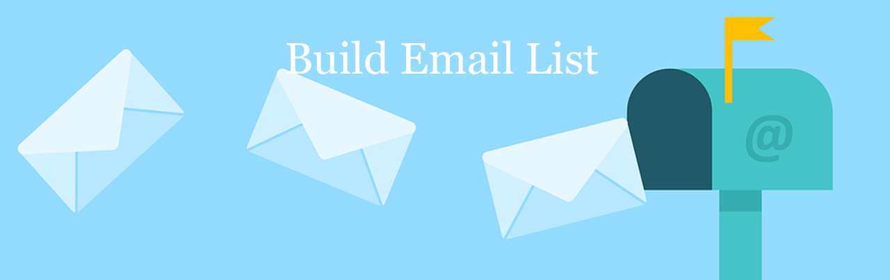 online business tips- build email list