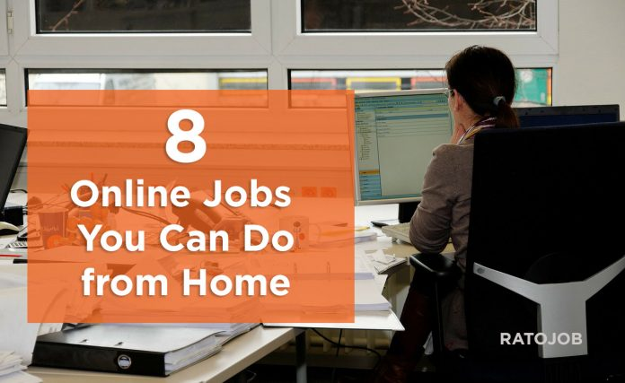 Online jobs you do from home