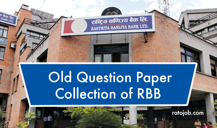 old question paper of rbb
