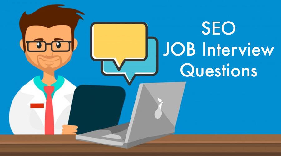 SEO job interview questions
