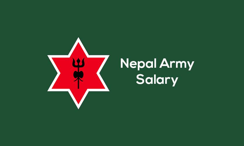 Nepal army salary